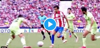 VIDEO: Gil Manzano ya buscó a Joao Félix en la jugada anterior