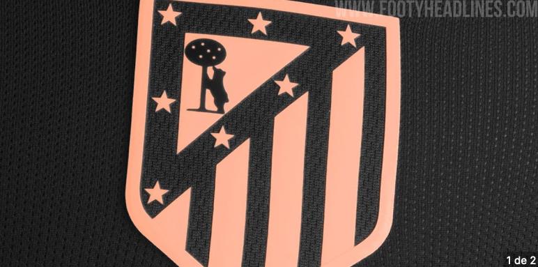 Footy Headlines filtra esta camiseta del Atleti para el año que viene...¿vuelve el escudo?