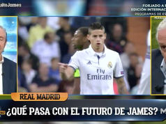 James, posible fichaje del Atlético.