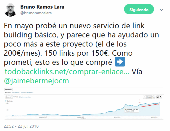 opinion de bruno ramos sobre todobacklinks