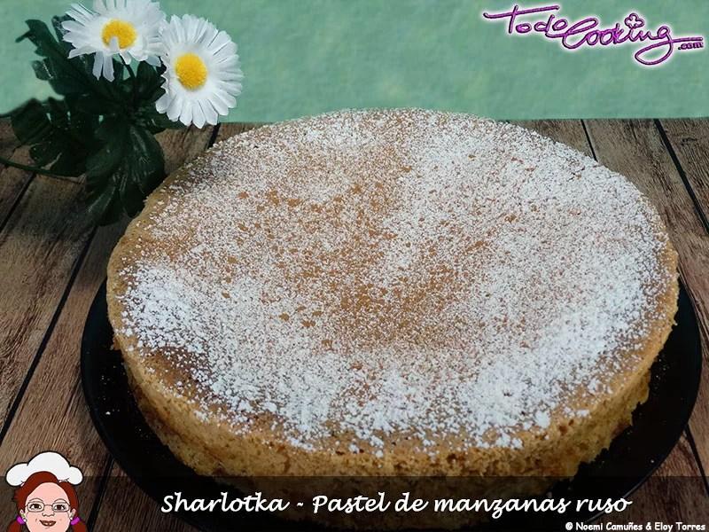 Sharlotka - Pastel de manzanas ruso