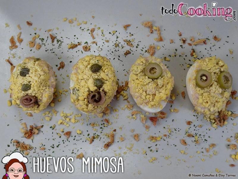 Huevos mimosa