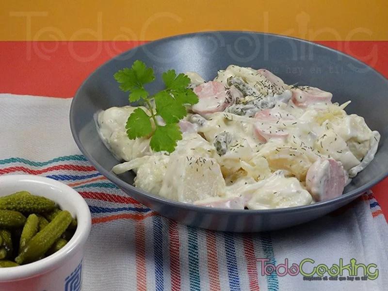 Karttofelsalat ensalada alemana