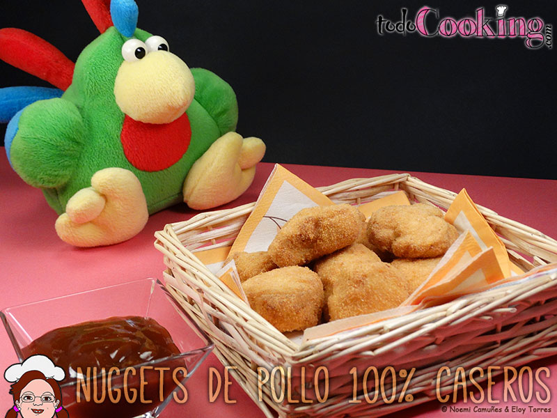 Nuggets caseros de pollo