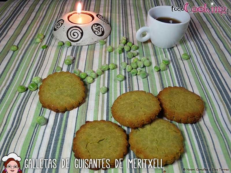 galletas de guisantes