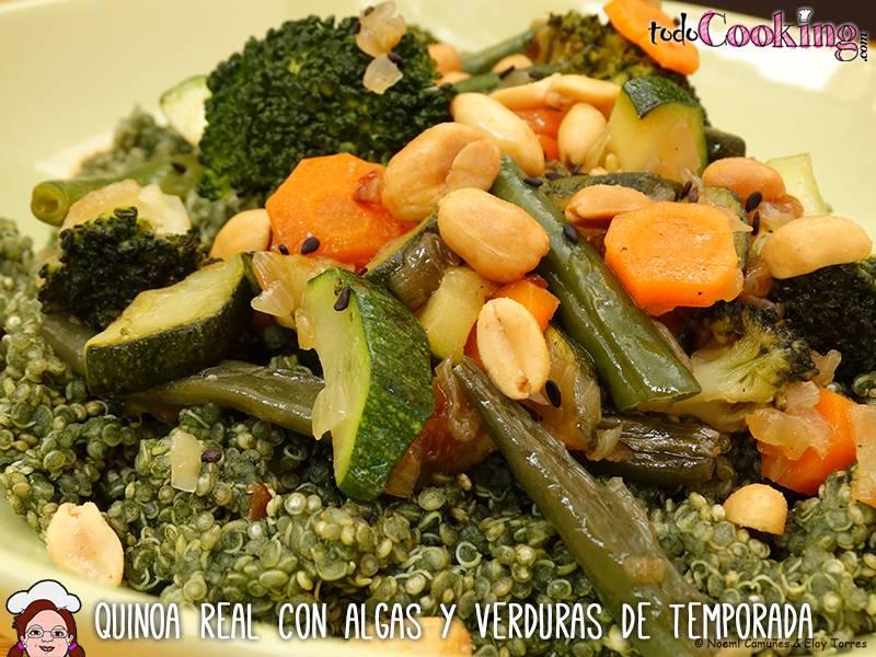 Quinoa Real con Algas Verduras