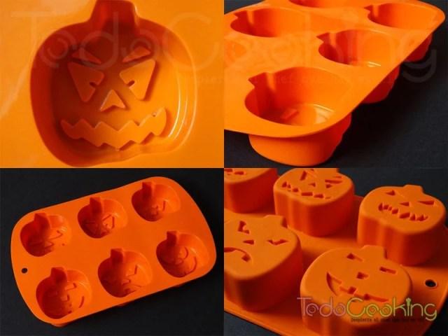 Molde Calabaza Halloween