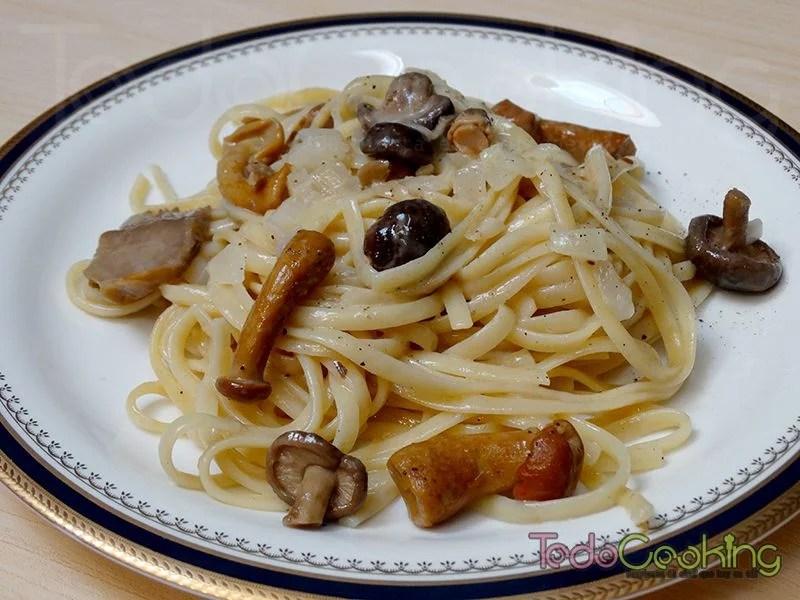 One Pot Pasta con salsa de setas al aroma de trufa