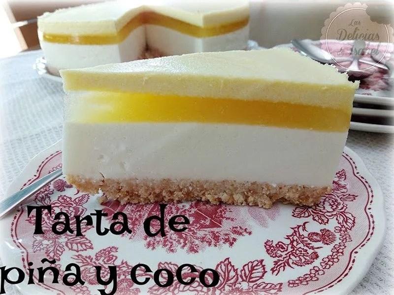 tarta piña coco