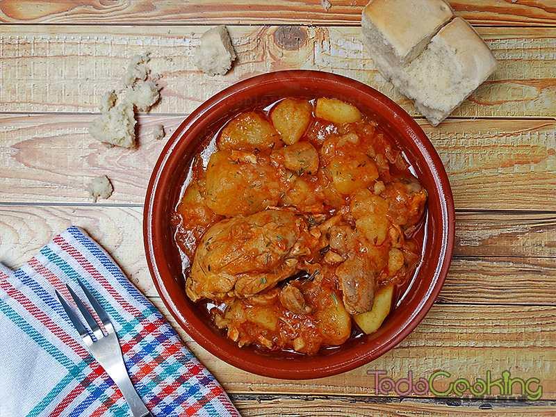 Guiso de pollo con patatas 02