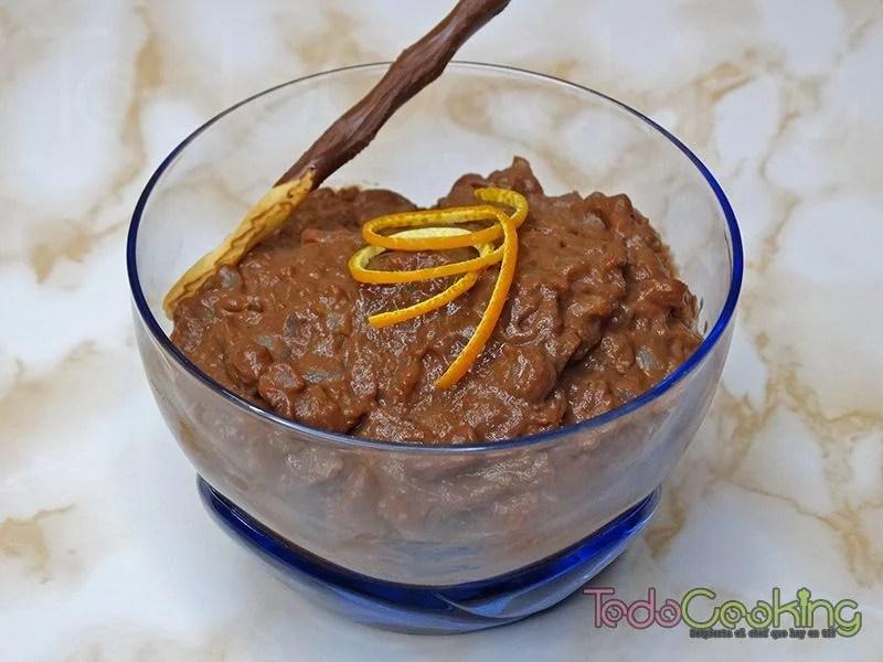 Crema de arroz con chocolate a la naranja 02