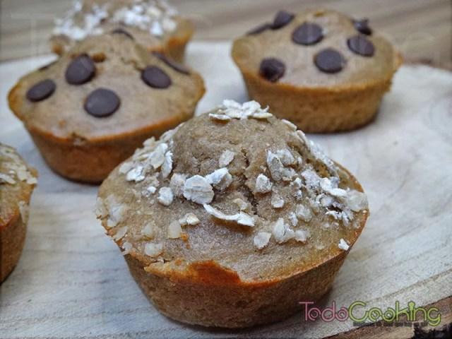 Muffins de avena saludables 04