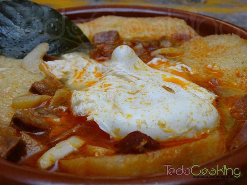 Sopa castellana o sopa de ajo 01