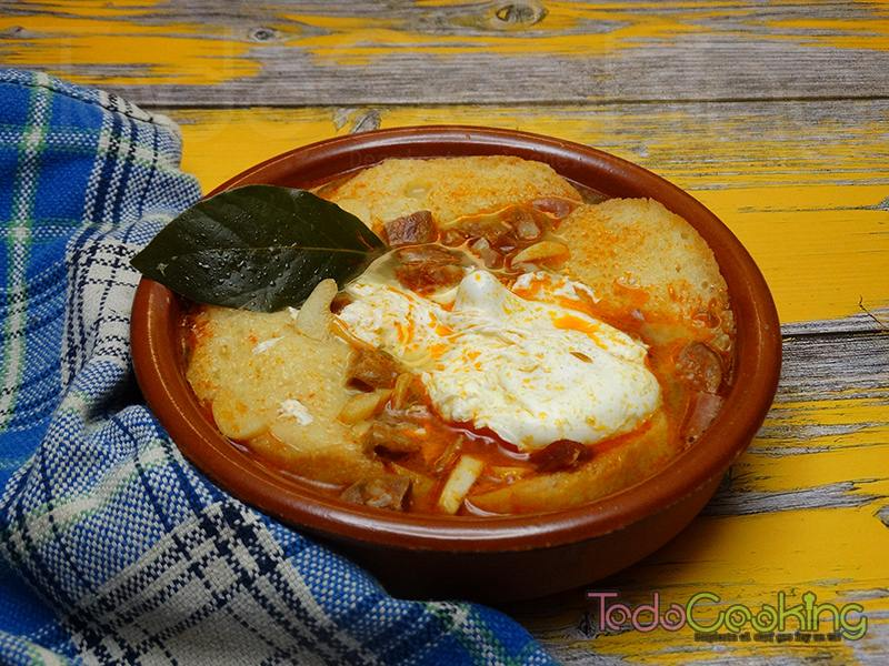 Sopa castellana o sopa de ajo 03