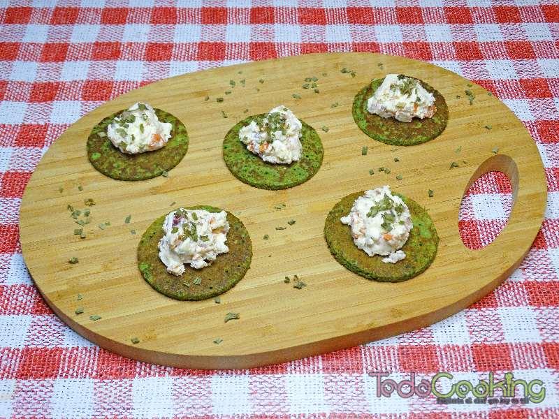 Tortitas de espinacas con Requeixo de As Neves 05