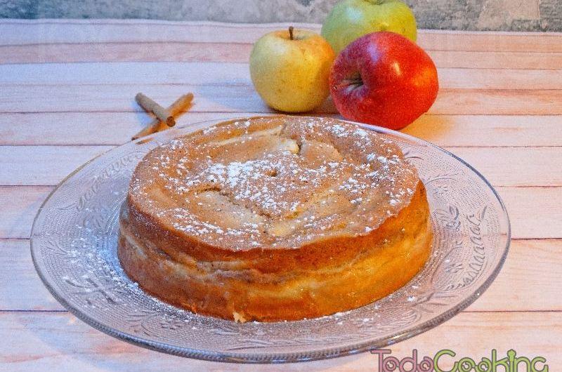 Pastel mágico de manzana 01
