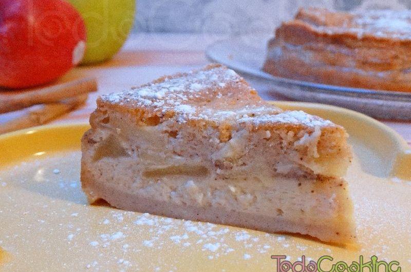 Pastel mágico de manzana