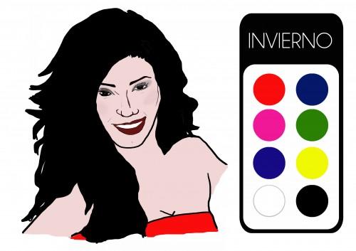 Tipología Invierno. Ilustración: Ana Jiménez.
