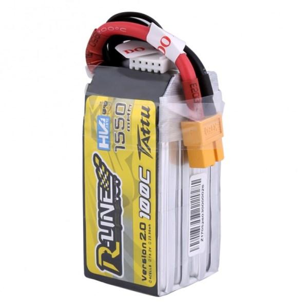 Tattu R-Line Version 2.0 1550mAh 100C 4S1P High Voltage Bateria (341)