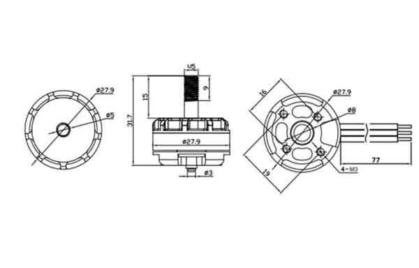 EMAX RS2205 RaceSpec Motor (319)