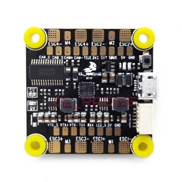 CL Racing F4S Flight Controller PDB OSD AIO Controladora (506)
