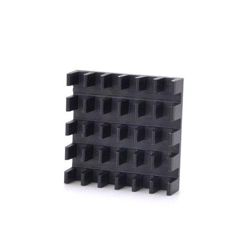 Disipador de Aluminio Negro (580)