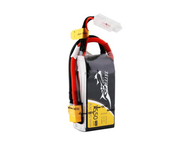 Tattu 1550mAh 11.1V 75C 3S1P Bateria Lipo with XT60 plug (308)