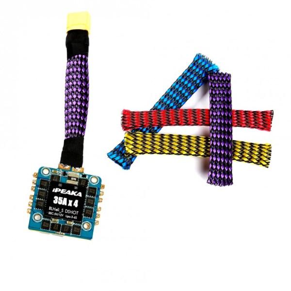 Malla de Nylon 6mm para cables x pies (603)(604)(605)(606)