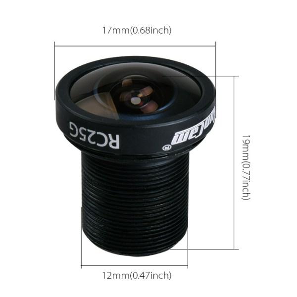 Lente RunCam RC25G FPV 2.5mm FOV160 FOV130 Gran Angulo (443)(482)