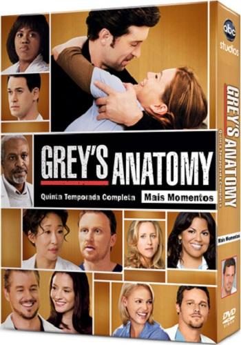 Grey's Anatomy – Season 5 [Latino] « TodoDVDFull ...