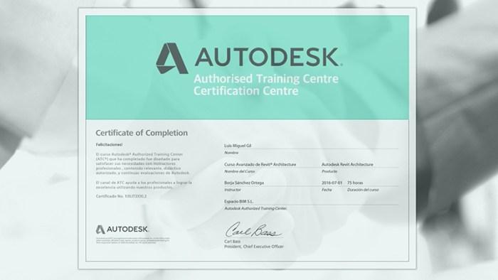 Centro oficial autorizado por autodesk