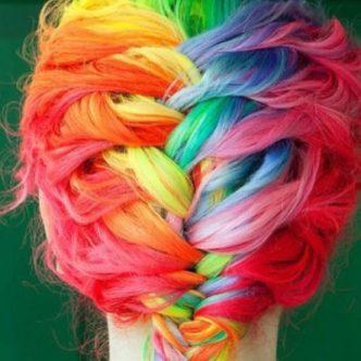 pelos de colores