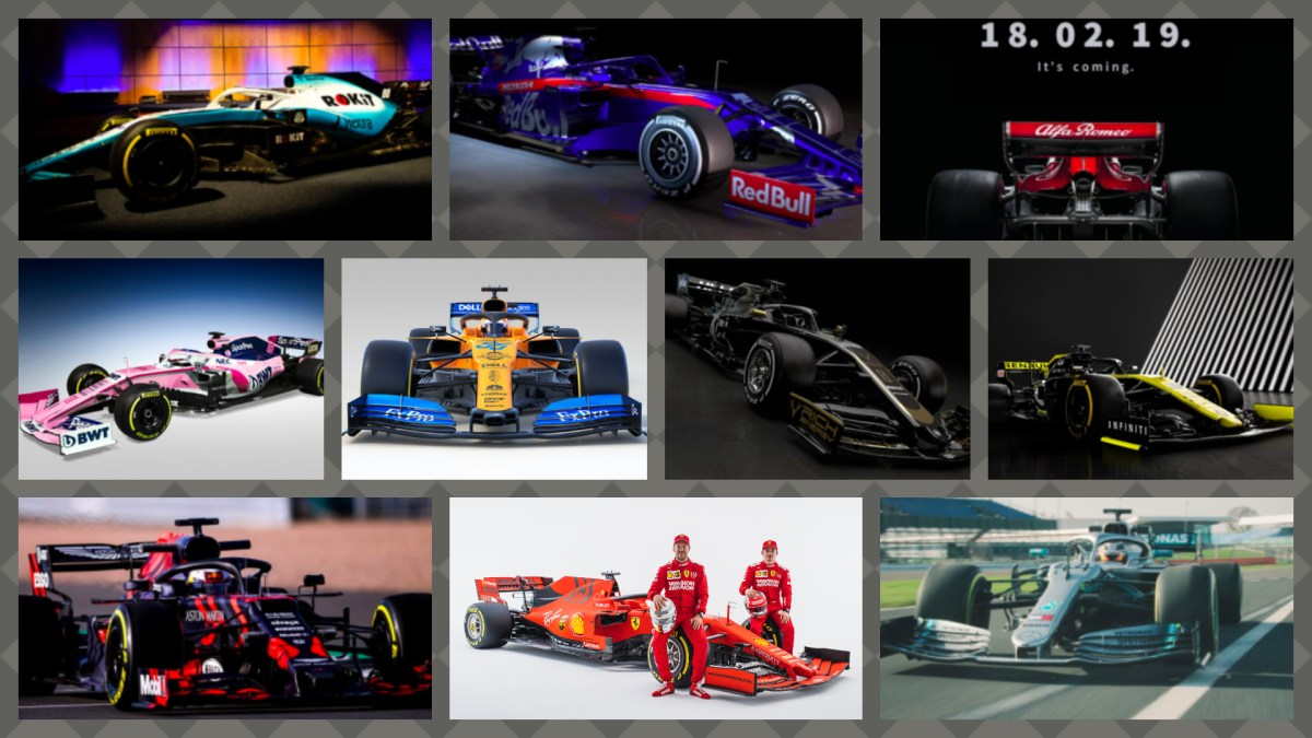 Escuderias F1 2019