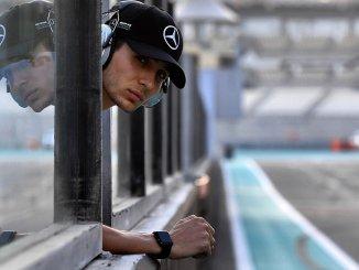 Esteban Ocon, piloto probador de Mercedes
