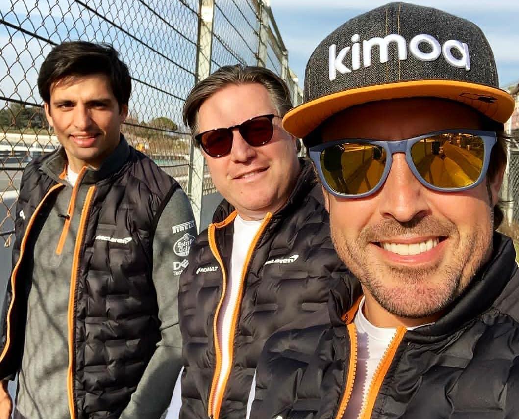 Fittipaldi espera el regreso de Alonso en 2020