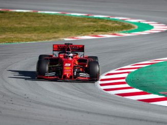 Ferrari SF90 Sebastian Vettel Barcelona tests pretemporada