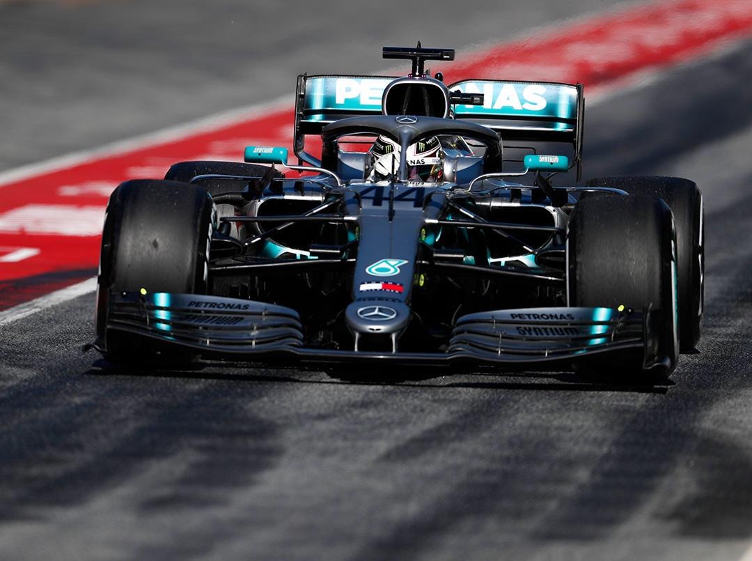 Mercedes actualiza su paquete aerodinámico de 2019