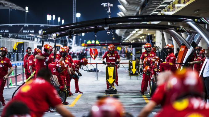 Bahrein Ferrari