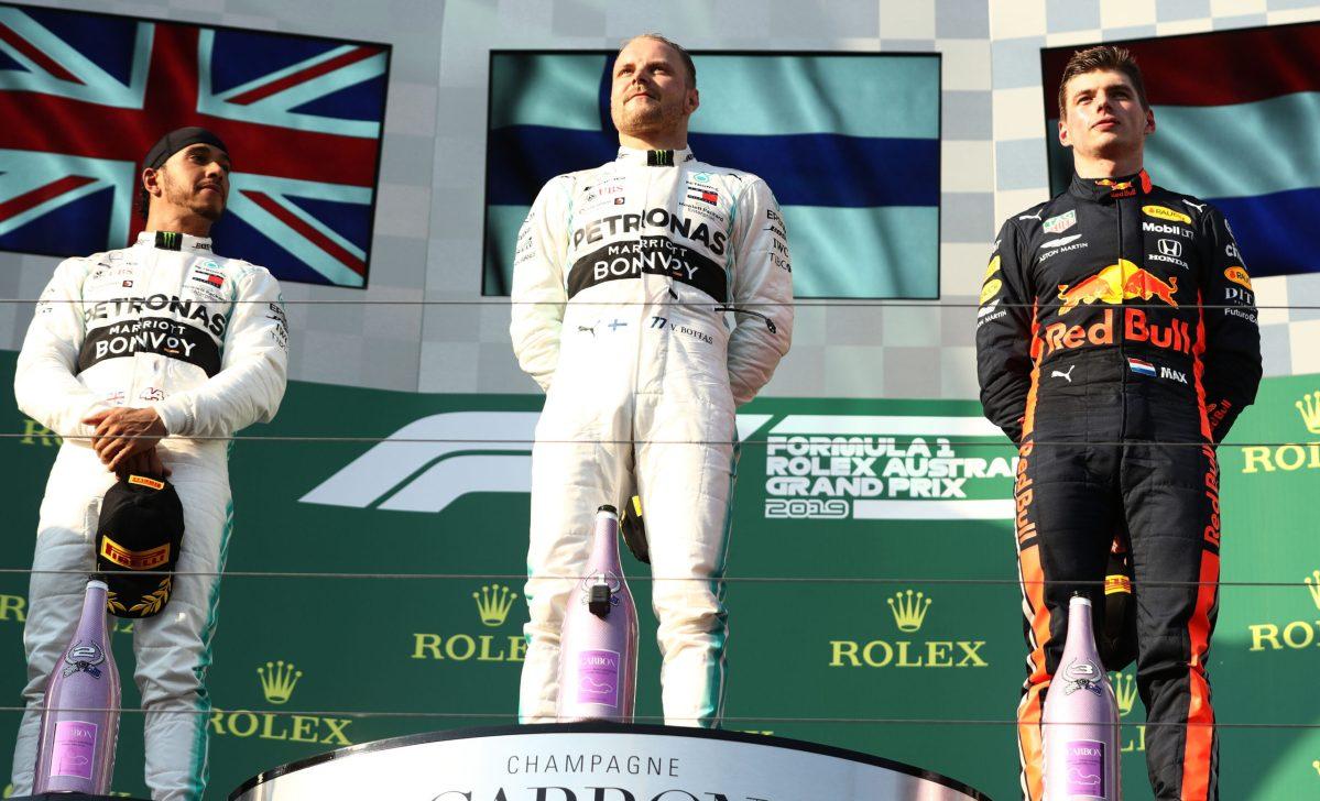 Bottas gana el Gran Premio de Australia 2019