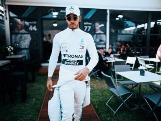 2019 Australian Grand Prix, Thursday - Lewis Hamilton