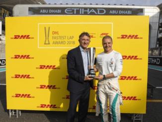 Valtteri Bottas DHL Fastest Lap 2018