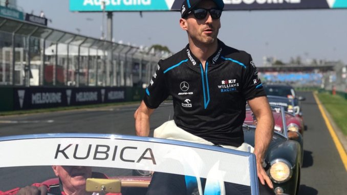 Robert Kubica, en el Gran Premio de Australia