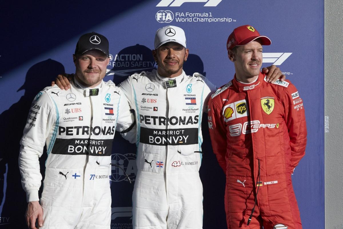 Parrilla de salida del Gran Premio de Australia
