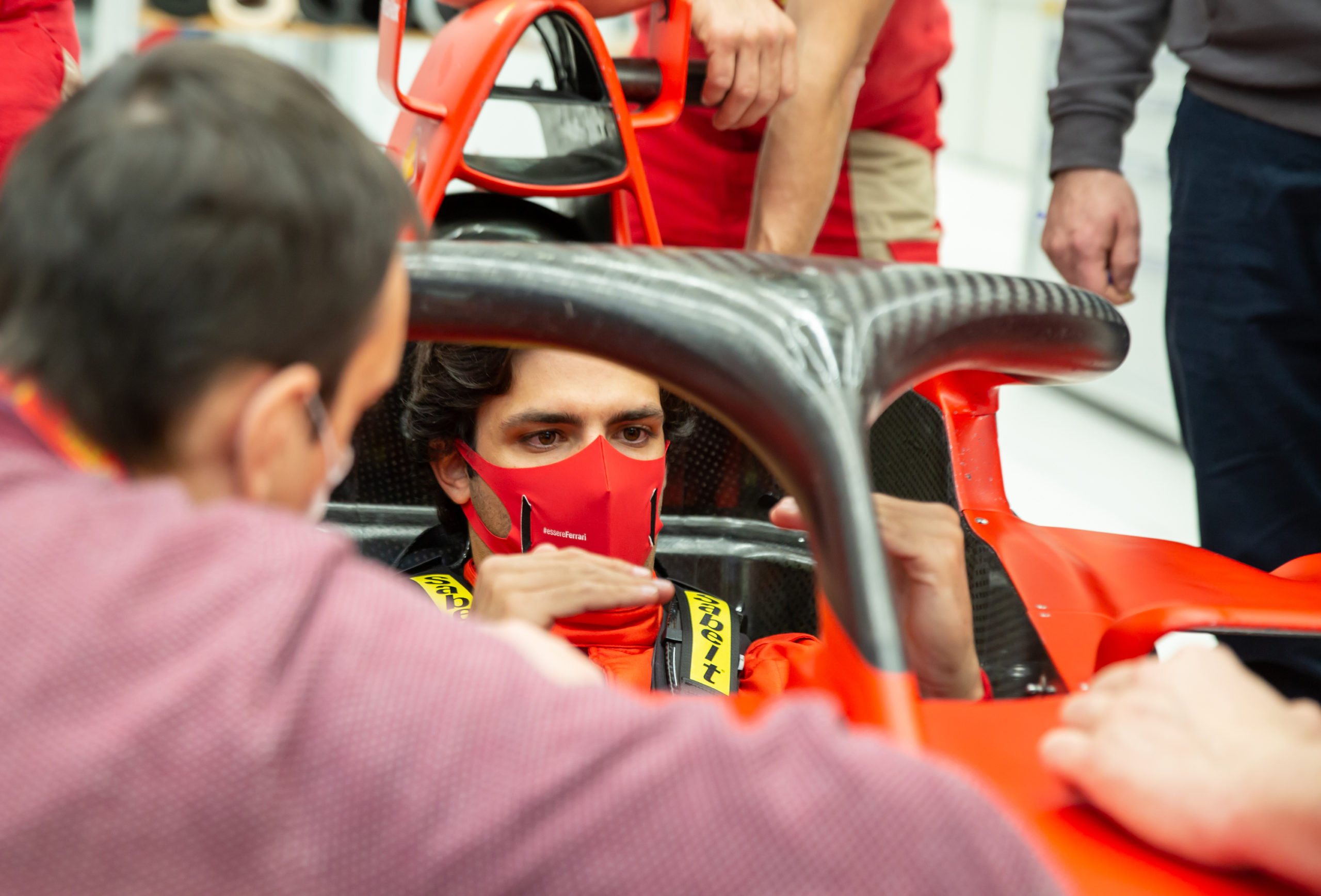 Carlos Sainz Maranello Ferrari 2020