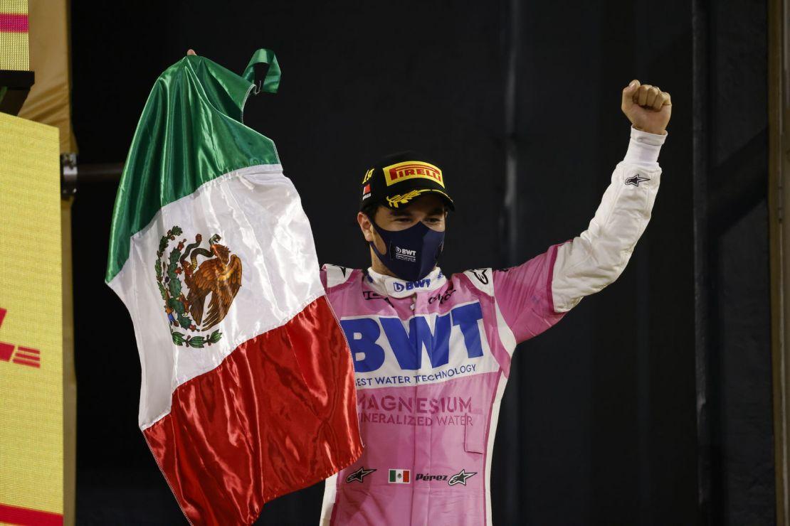 Checo Perez Sakhir 2020 victoria