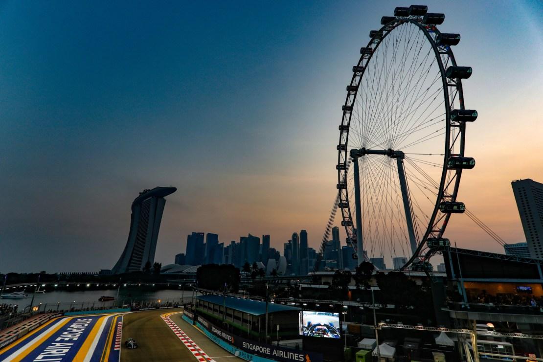 Formula 1 horario Singapur