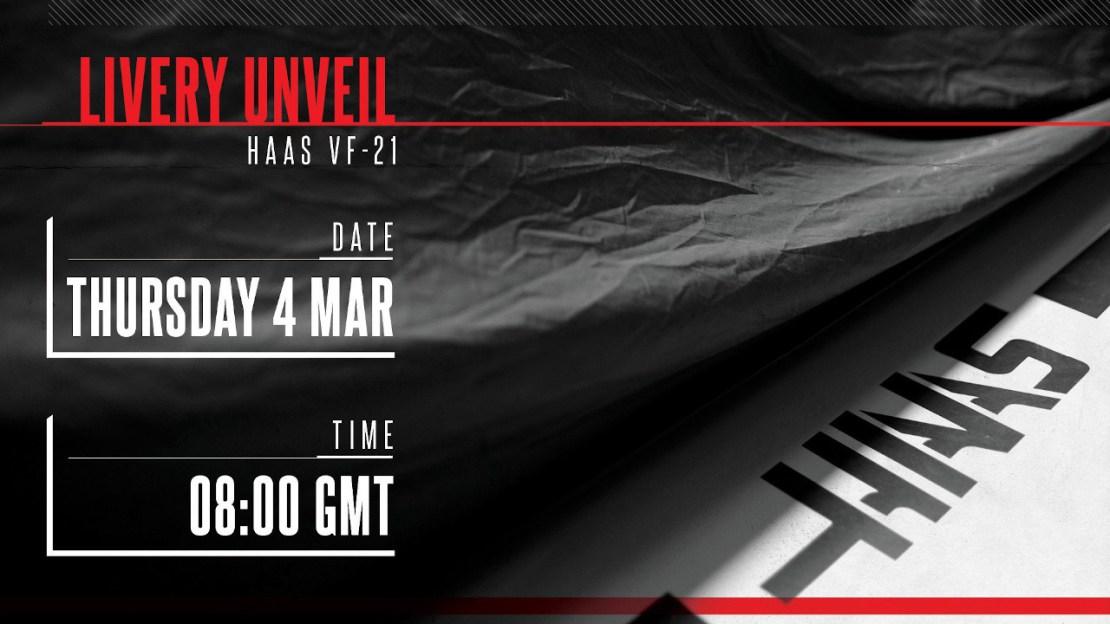 Presentación Haas F1 2021