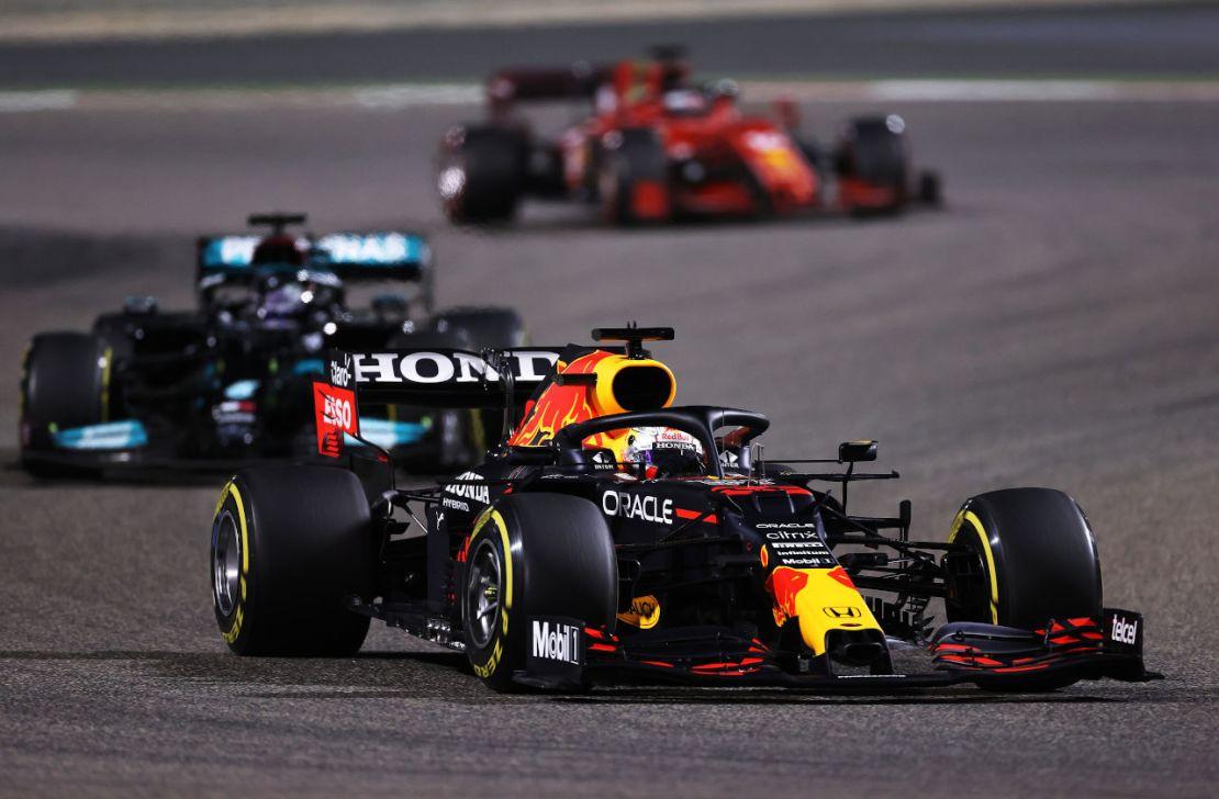 Verstappen Hamilton Bahrein 2021