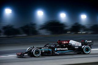 Tests F1 Bahrein Mercedes