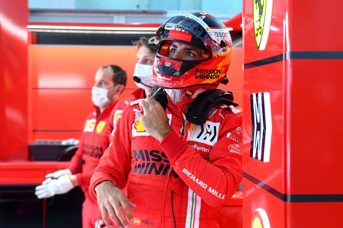 Carlos Sainz Ferrari 2021